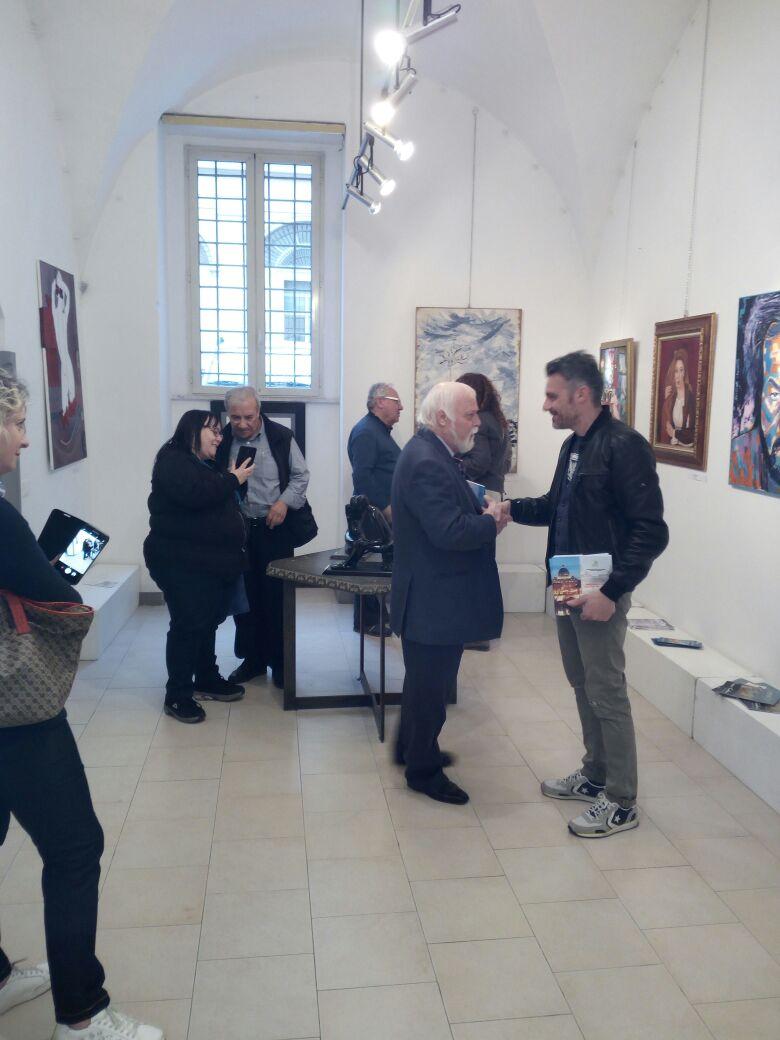 Inaugurazione Primavera Artistica alla Galleria La Pigna