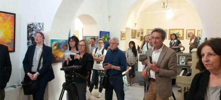 """Inaugurazione mostra collettiva """"L'arte è vita…. La vita è arte""""-  ROMA"""
